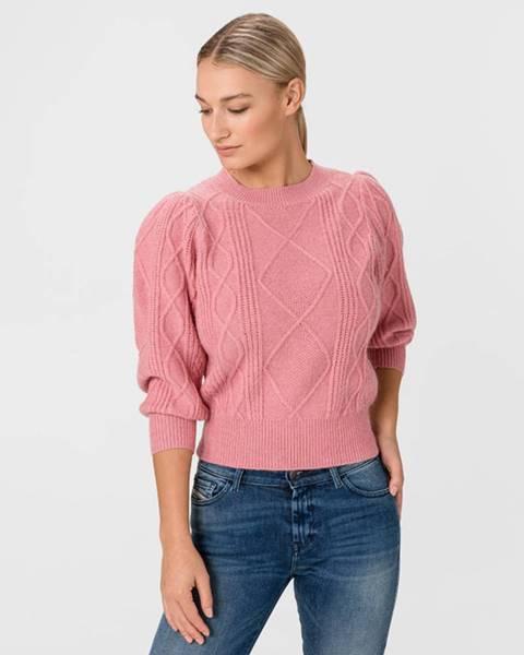 Ružová mikina Vero Moda