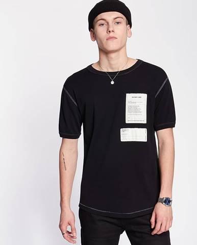 Čierne tričko HELMUT LANG