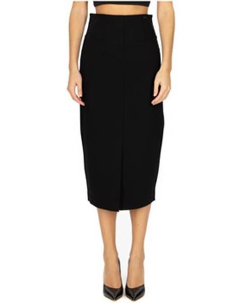 Čierna sukňa Le Coeur