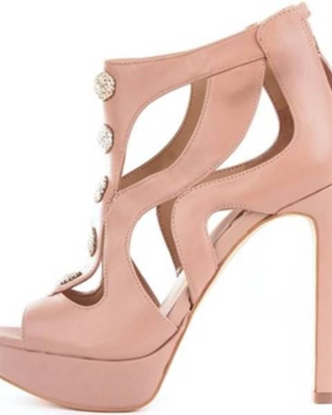 Béžové sandále Guess