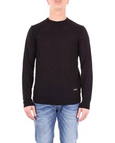 Čierny sveter Alessandro Dell'acqua