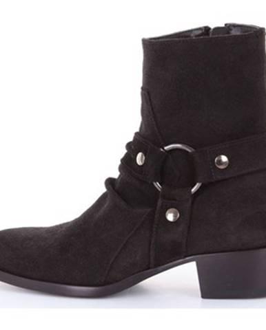 Čierne topánky Matt Moro