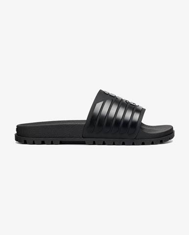 Čierne sandále Emporio Armani