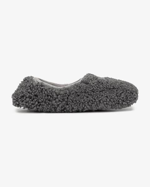 Sivé papuče UGG