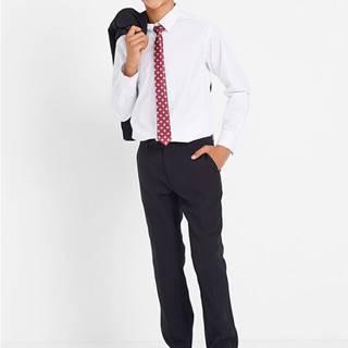 Oblek + košeľa + kravata (4-dielna súprava)