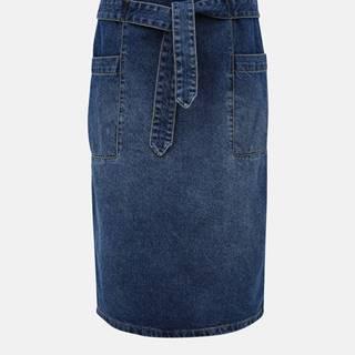 Modrá rifľová sukňa Jacqueline de Yong Selma