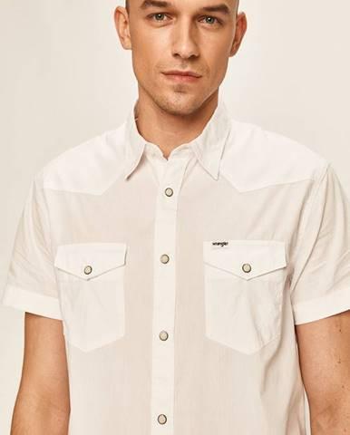 Biela košeľa Wrangler