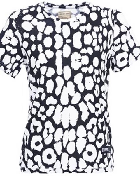 Čierne tričko Eleven Paris