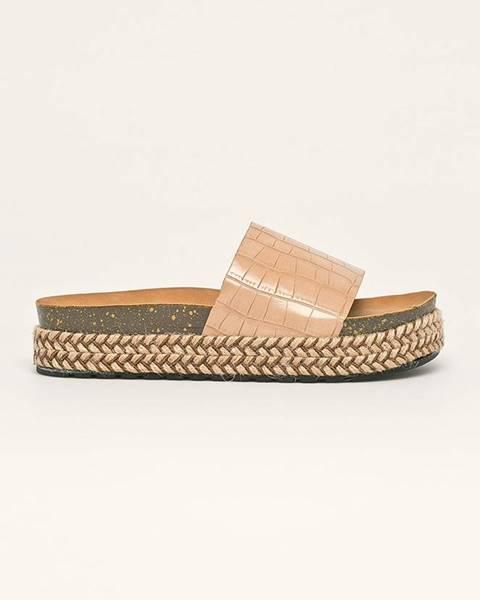 Béžové sandále Answear