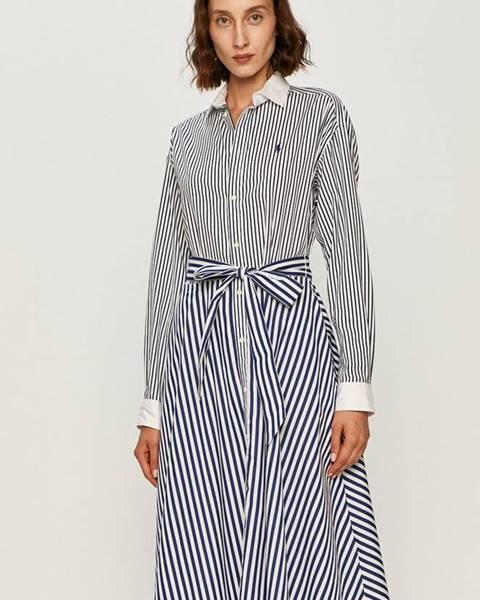Viacfarebné šaty Polo Ralph Lauren