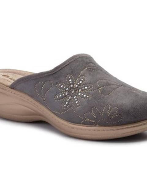 Sivé papuče INBLU